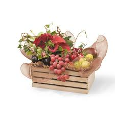 fruit flowers baskets flowers and gifts from interflora new zealand fruit box gift basket