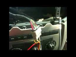 how to factory radio removal and aftermarket radio install 2005