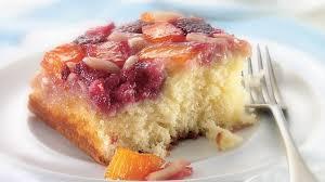 raspberry mango upside down cake recipe bettycrocker com