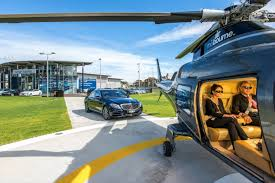 mercedes of melbourne begins helicopter services from melbourne airport to cbd