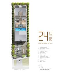 Bugis Junction Floor Plan by 24 One Residences Singapore New Property Launch 6100 0601