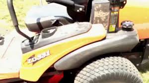 kubota zd331 zero turn review youtube