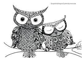 coloring page for adults owl coloring pages coloring pages owls page adults owl free to free