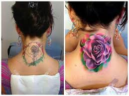 cover up ideas covering ink and