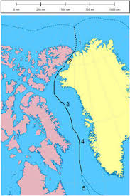 Greenland Map Canada And Denmark Keep Relations Warm In Arctic Island Dispute