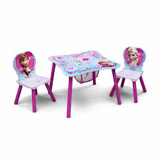 disney frozen table and chair set with storage walmart com