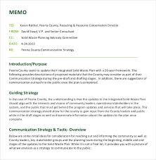 19 free memo templates u2013 free sample example format