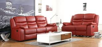 Leather Sofa Set On Sale Contour Red Reclining Leather Sofa Set Electric Recliner Sale Faux