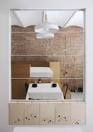 micro flat in the heart of barcelona with exposed brick walls