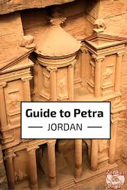 visiting petra jordan u2013 map things to see planning tips