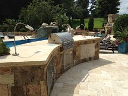 built in grill designs outdoor decks and kitchens built in