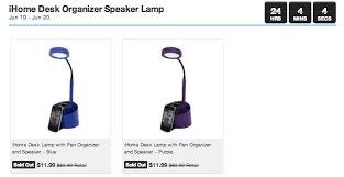 Desk Organizer Lamp Ihome Desk Lamp With Pen Organizer And Speaker 12 5 Shipping