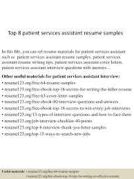 resume objective for patient service representative patient services assistant resume free resume example and we found 70 images in patient services assistant resume gallery