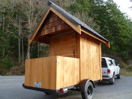 relaxshacks com eli curtis u0027 tiny cabin on wheels a micro getaway