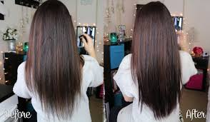 So Cap Hair Extensions Before And After by Video My Fantasy Hair Review How To Care For And Clip In Hair