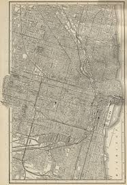 44th Ward Chicago Map by 1880 Residents Of Chicago