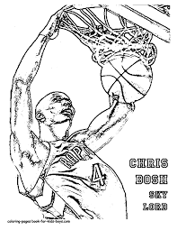 basketball player coloring pages getcoloringpages com