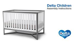 Tribeca Convertible Crib Delta Children Tribeca 4 In 1 Crib Assembly
