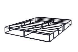 amazon com steel metal frame mattress box spring queen kitchen