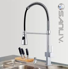 kitchen faucets with pull out spray pull out spray kitchen mixer taps sanliv kitchen faucets and