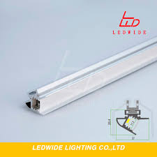 How To Mount Led Strip Lights by Newest Ledwide Wall Mount Aluminium Led Profile Clear Plastic