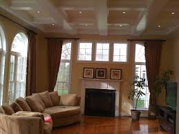 ceiling wooden cofferd ceiling matched with white wall and