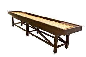 barrington 9 solid wood shuffleboard table chion sheffield shuffleboard table wood 18ft ebay