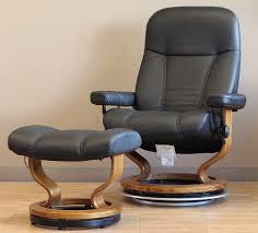 Black Leather Recliner Chair Stressless Batick Black Leather By Ekornes Stressless Batick