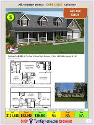 kelsey all american cape cod modular home cape cod collection plan