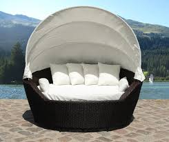 nice patio daybed with canopy luxury outdoor rattan daybed with