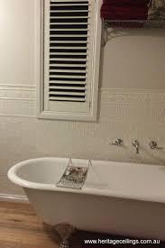Bathroom Wall Design The Pressed Metal Design Called