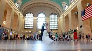 videographer nyc new york destination wedding at bryant park nyc wedding