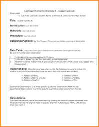 ib lab report template 7 chemistry lab report template resumed