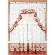Ruffled Kitchen Curtains by Ruffle Curtains