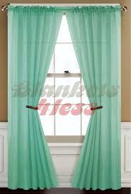 Blue Green Sheer Curtains Window Curtains Pics Of Amazing Blue Green Sheer Curtains Designs