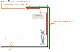 how do i go about wiring a switch from a power source to a light