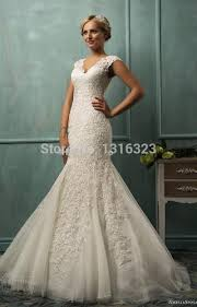 plus size fit and flare wedding dress get cheap fit and flare lace plus size wedding dress