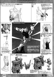 mg rx 78 02 gundam the origin english manual u0026 color guide mech9