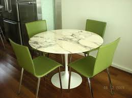 furniture fabulous eero saarinen style 60 round marble top dining