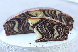 gateau cuisine la gâteau zébré ou marbré zebra cake de lorraine pascale chez