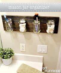 bathroom organizers ideas ideas para baños pequeños bath pinterest mason jar bathroom