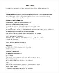 esthetician resume exles sle entry level esthetician resume 28 images simple resume or cv