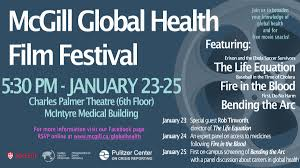 international journalism festival facebook page mcgill global health film festival global health programs