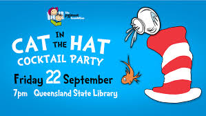 cocktail party cartoon cat in the hat cocktail party the pyjama foundation