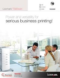 download free pdf for lexmark t654dn printer manual