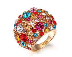 beautiful women rings images Beautiful cocktail rings for women hollow ring on index finger jpg