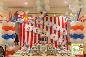 Balloon Decoration For Birthday At Home by Interior Design Best Airplane Theme Decorations Home Decor