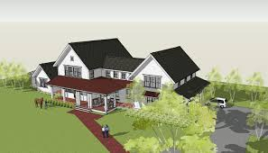 Contemporary Farmhouse Floor Plans Simply Elegant Home Designs Blog Modern Farmhouse By Ron Brenner
