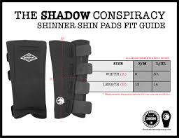 Shinner Shadow Conspiracy Shinners Shin Pads Alans Bmx