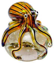 glass octopus paperweight gw59 be fabulous